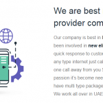 Etisalat Home Internet Connection